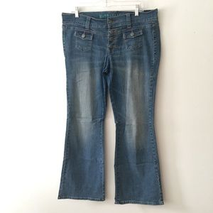 Hydraulic flare jeans (14)